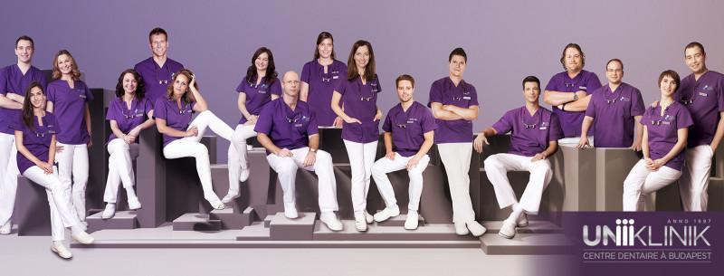 L'équipe médicale d'UNIKLINIK