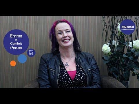 Vidéo témoignage à la clinique MDental : Emma (France)