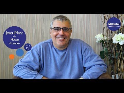 Vidéo témoignage à la clinique MDental : Jean-Marc (France)
