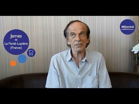 Vidéo témoignage à la clinique MDental : James (France)