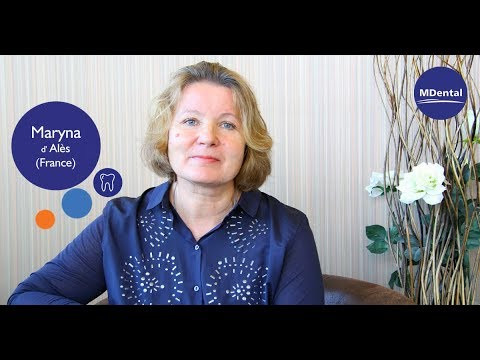 Vidéo témoignage à la clinique MDental : Maryna (France)