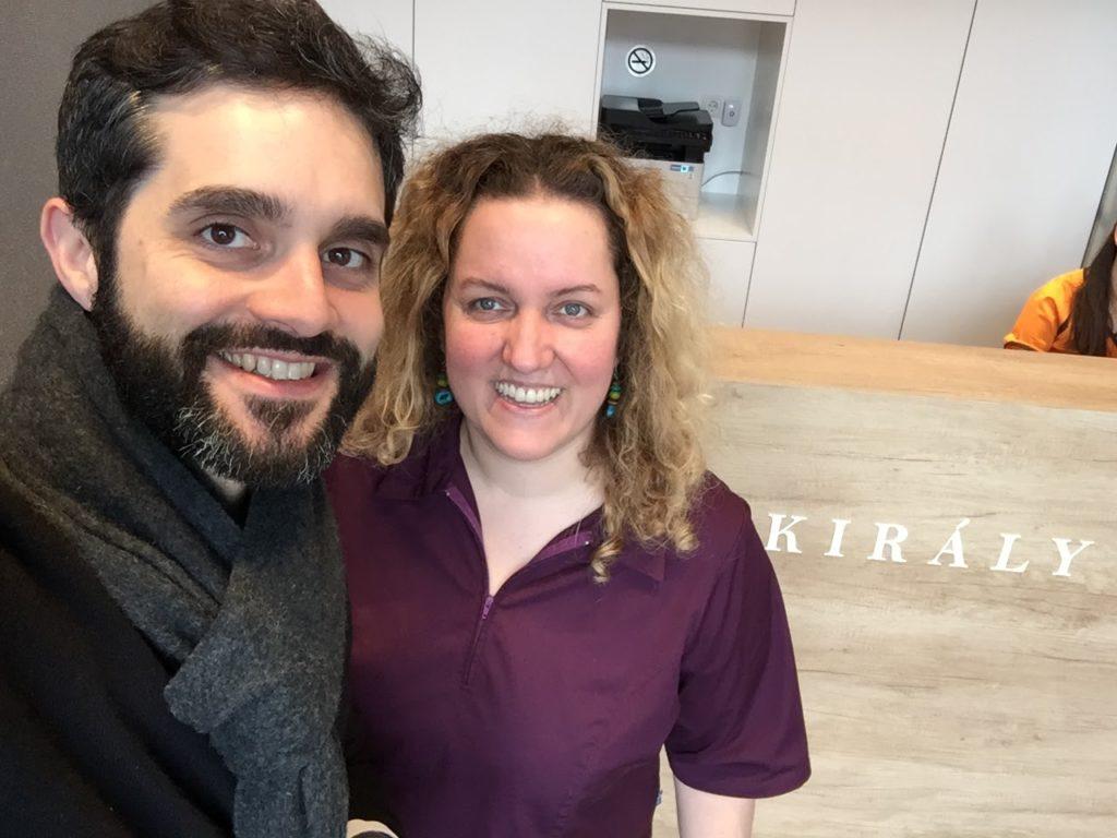 chez Smile Partners à Budapest (nouvelle clinique)