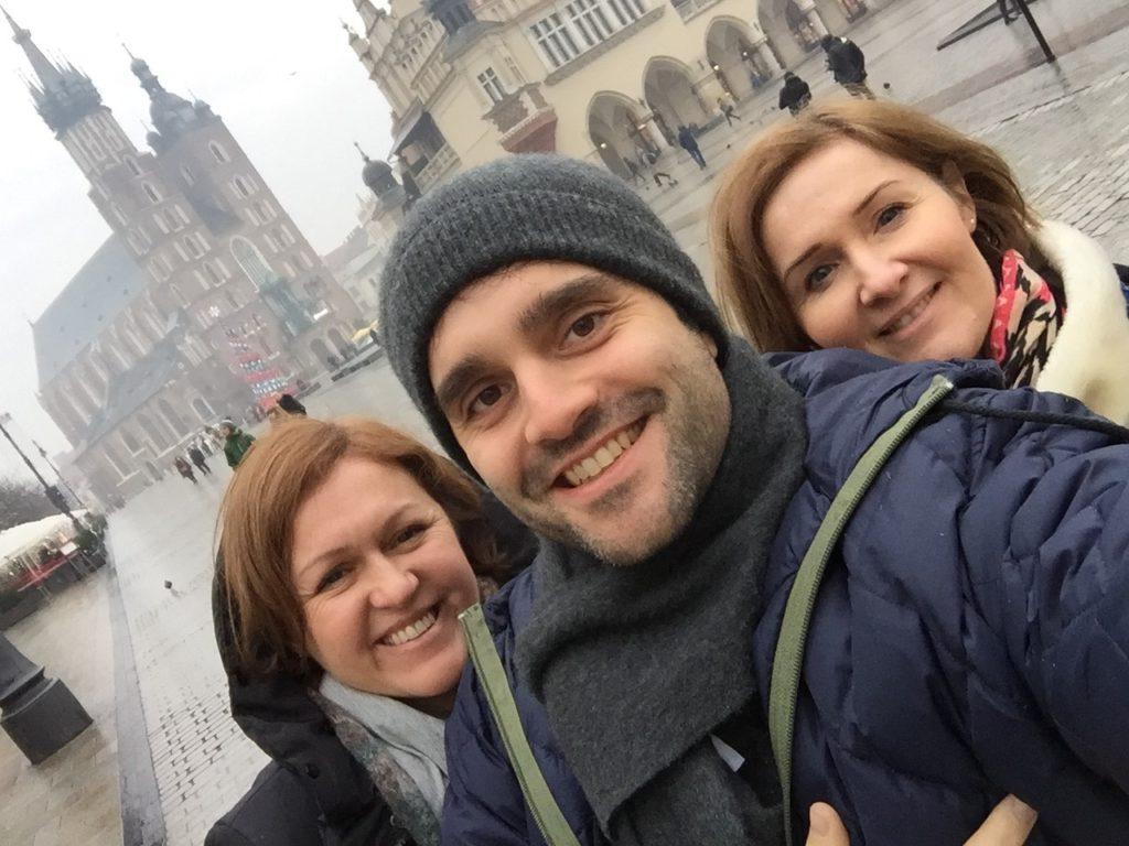 A Cracovie avec vos correspondantes francophones